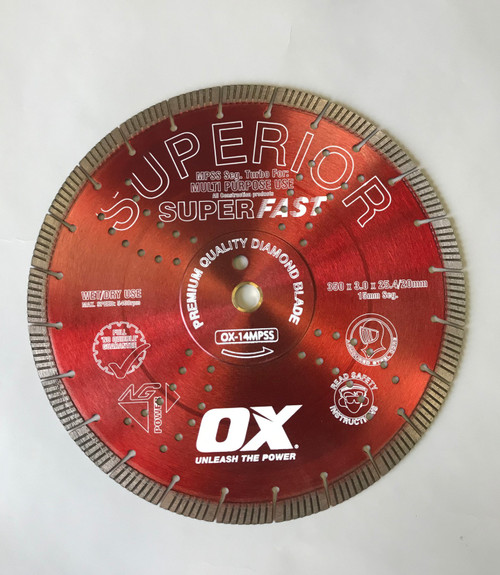 Ox Red Superior Turbo Blade