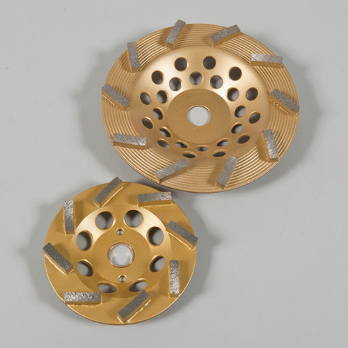 Gold Epoxy Grinding Discs. For Grinding Epoxy,Paint 25Grit