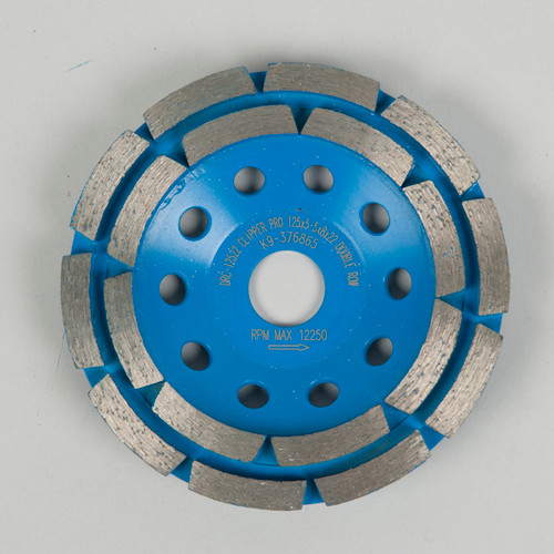 Clipper Double Row Cup Grinding Disc