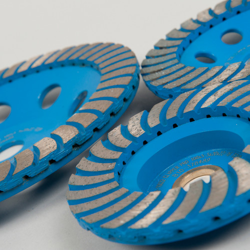 Clipper Swirl Cup Grinding Disc 175mm.