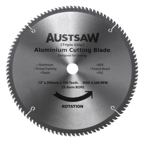 Aluminium Cutting Blades (Triple Chip)