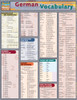 Quick Study QuickStudy German Vocabulary Laminated Study Guide BarCharts Publishing German Language Front Image