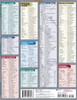 Quick Study QuickStudy Italian Vocabulary Laminated Study Guide BarCharts Publishing Italian Vocab Back Image