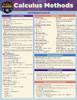 QuickStudy | Calculus Methods Laminated Study Guide