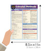 Quick Study QuickStudy Calculus Methods Laminated Study Guide BarCharts Publishing Mathematic Reference Guide Size