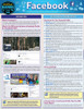 Quick Study QuickStudy Facebook Laminated Reference Guide BarCharts Publishing Social Media Reference Cover Image