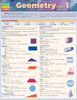 QuickStudy Quick Study Geometry Part 1 Laminated Study Guide BarCharts Publishing Math Study Guide Cover Image