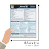 Quick Study QuickStudy LinkedIn For Business & You Laminated Reference Guide BarCharts Publishing Social Media Networking Reference Guide SIze