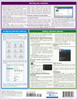 Quick Study QuickStudy Microsoft Windows 10 Laminated Reference Guide BarCharts Publishing Computer Browser Software Outline Back Image