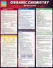 QuickStudy Quick Study Organic Chemistry Reactions Laminated Study Guide BarCharts Publishing Cover Image