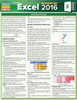 Quick Study QuickStudy Excel 2016 Advanced Laminated Reference Guide BarCharts Publishing Business Software Reference Cover Image