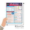 Quick Study QuickStudy Studying: Tips, Tricks & Hacks Laminated Study Guide BarCharts Publishing Academic Education Reference Guide Size