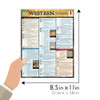 Quick Study QuickStudy Western Civilization 1 Laminated Study Guide BarCharts Publishing World History Reference Guide Size