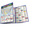 Quick Study QuickStudy America: 50 States Laminated Study Guide BarCharts Publishing American History Reference Main Image