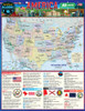 Quick Study QuickStudy America: 50 States Laminated Study Guide BarCharts Publishing American History Reference Cover Image