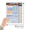 Quick Study QuickStudy Chemistry Quizzer Laminated Study Guide BarCharts Publishing Academic Guide Size