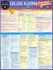 QuickStudy | College Algebra: Equations & Answers Laminated Study Guide
