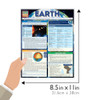 Quick Study QuickStudy Earth Laminated Study Guide BarCharts Publishing Physical Science Reference Guide Size