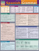 Quick Study QuickStudy Spanish Grammar Laminated Study Guide BarCharts Publishing Spanish Grammar Cover Image