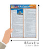 Quick Study QuickStudy U.S. Congress Laminated Study Guide BarCharts Publishing Social Science Guide Size