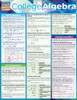 Quick Study QuickStudy College Algebra Laminated Study Guide BarCharts Publishing Reference Algebra Cover Image