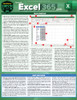 Quick Study QuickStudy Microsoft Excel 365: 2019 Laminated Reference Guide BarCharts Publishing Business Software Reference Cover Image