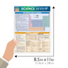 Quick Study QuickStudy Science Review Laminated Study Guide BarCharts Publishing Academic Reference Guide Size