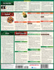Quick Study QuickStudy Chef's Guide to Plant-Based Diets Laminated Reference Guide BarCharts Publishing Culinary Reference Outline Back Image