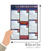 Quick Study QuickStudy U.S. Presidents Laminated Study Guide BarCharts Publishing Political Science Reference Guide Size