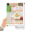 Quick Study QuickStudy Nutrition: Plant-Based Whole Food Diet Laminated Reference Guide BarCharts Publishing Health & Lifestyle Reference   Guide Size
