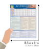 Quick Study QuickStudy Acupressure Point Functions Laminated Study Guide BarCharts Publishing Guide Size