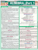 Quick Study QuickStudy Algebraic Part 1 Laminated Study Guide BarCharts Publishing Algebra Pt1 Guide Cover Image