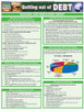 QuickStudy | Getting Out of Debt Laminated Reference Guide