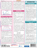 Quick Study QuickStudy Calculus 1 Laminated Study Guide BarCharts Publishing Calculus 1 Reference Back Image