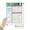 Quick Study QuickStudy MS Excel 2016: Pivot Tables Laminated Reference Guide BarCharts Publishing Business Software Reference Guide Size