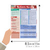 Quick Study QuickStudy Pediatric Nursing Laminated Study Guide BarCharts Publishing Medical Guide Size