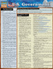 QuickStudy Quick Study U.S. Government Laminated Study Guide BarCharts Publishing Political Science Cover Image