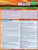 QuickStudy | Common Core: Math 9th - 12th Grade Laminated Study Guide