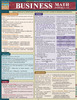 Quick Study QuickStudy Business Math Formulas Laminated Study Guide BarCharts Publishing Math Guide Cover Image