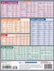 Quick Study QuickStudy Mandarin Vocabulary Laminated Study Guide BarCharts Publishing Mandarin Vocab Back Image