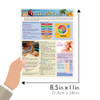 Quick Study QuickStudy Children's Nutrition Laminated Reference Guide BarCharts Publishing Health & Lifestyle Guide Size
