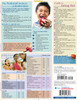 Quick Study QuickStudy Children's Nutrition Laminated Reference Guide BarCharts Publishing Health & Lifestyle Guide Back Image