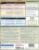 Quick Study QuickStudy Statistics Equations & Answers Laminated Study Guide BarCharts Publishing Back Page Image
