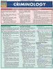 QuickStudy | Criminology Laminated Reference Guide