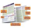 QuickStudy Quick Study Psychology Developmental Life Span Laminated Study Guide BarCharts Publishing Guide Benefits