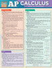 Quick Study QuickStudy AP Calculus Laminated Study Guide BarCharts Publishing Academic Math Guide Cover Image