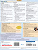 Quick Study QuickStudy First Aid: Cold & Flu Laminated Study Guide BarCharts Publishing Health Reference Guide Back Image