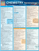 QuickStudy Quick Study Chemistry Terminology Laminated Study Guide BarCharts Publishing Science Cover Image