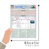 Quick Study QuickStudy Google Docs Laminated Reference Guide BarCharts Publishing Computer Guide Size