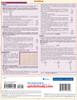 Quick Study QuickStudy Nursing Math Laminated Study Guide BarCharts Publishing Medical Math Guide Back Image
